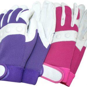 rękawice angielskie skórzane comfort fit