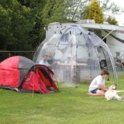 Sunbubble camping