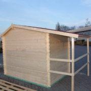 Domek drewniany Aster