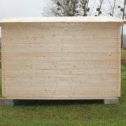 Domek drewniany narcyz_bok