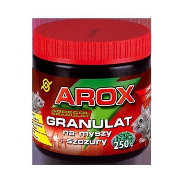 AROX granulat na myszy i szczury 250 g