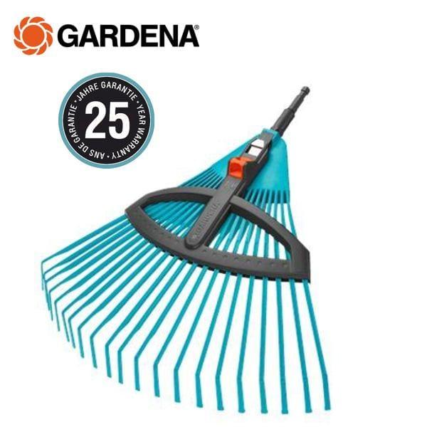 grabie do liści wachlarzowe regulowane gardena