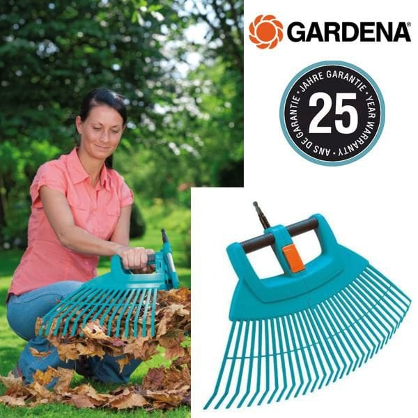 grabie xxl do liści dzielone gardena