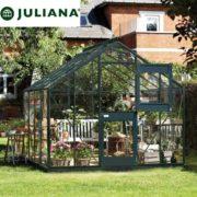 szklarnia duńska juliana model junior 8,3 m2 czarna