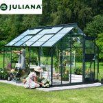 szklarnia duńska juliana model junior 9,9 m2 czarna