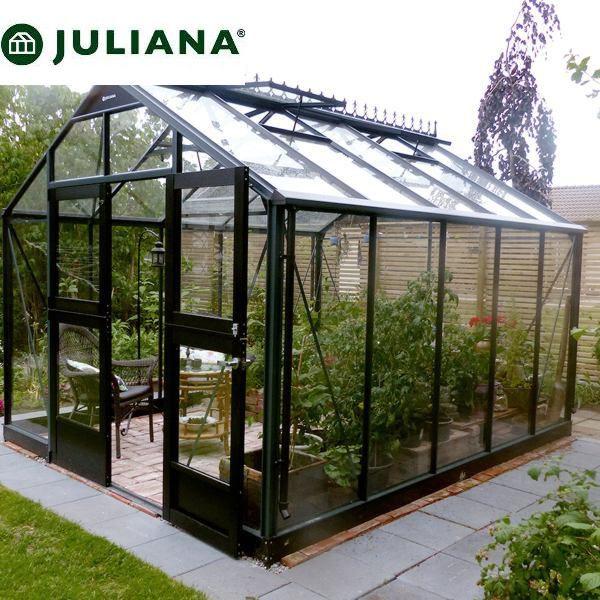 szklarnia duńska juliana model premium 10,9 m2 czarna