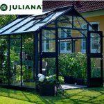 szklarnia duńska juliana model premium 8,8 m2 czarna