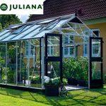 szklarnia juliana duńska model premium 10,9 m2 srebrna