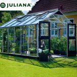 szklarnia juliana duńska model premium 13,0 m2 srebrna