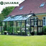 szklarnia juliana model premium 13,0 m2 czarna