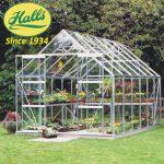 szklarnia ogrodowa model magnum 128 halls angielska