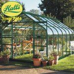 szklarnia ogrodowa model supreme 128 halls angielska