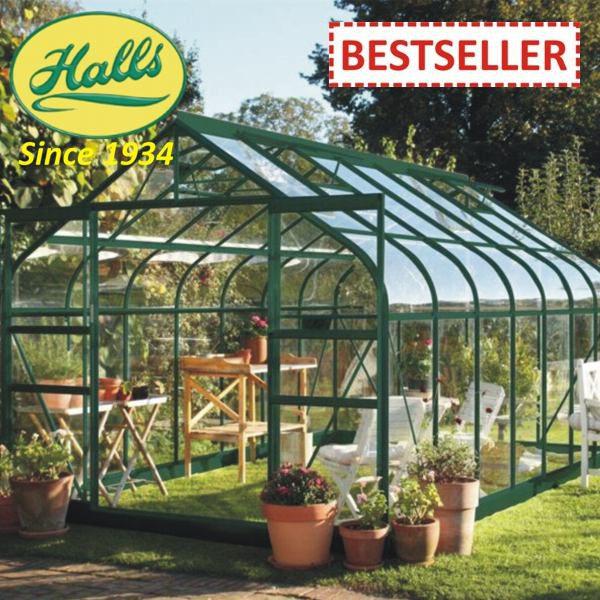 szklarnia ogrodowa model supreme 148 halls angielska