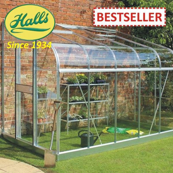 szklarnia ogrodowa przyścienna model silverline 106 halls