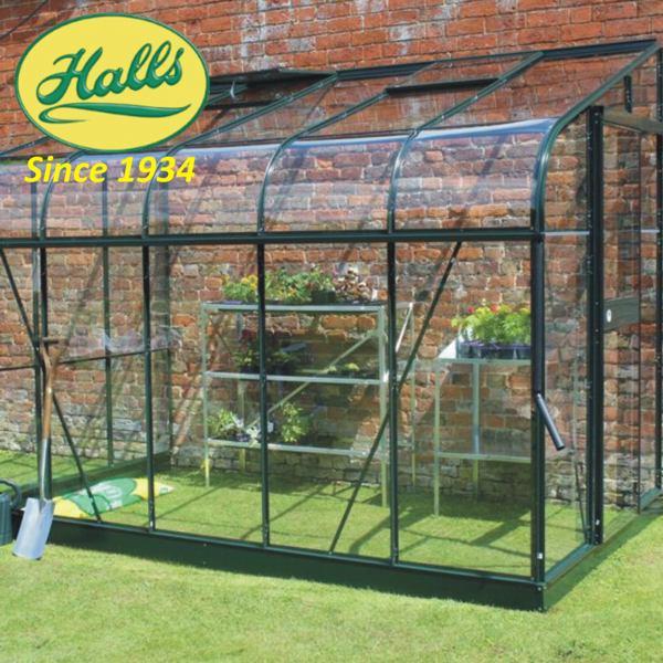 szklarnia ogrodowa przyścienna model silverline 106 halls angielska