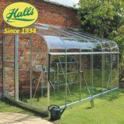 szklarnia ogrodowa przyścienna model silverline 126 halls