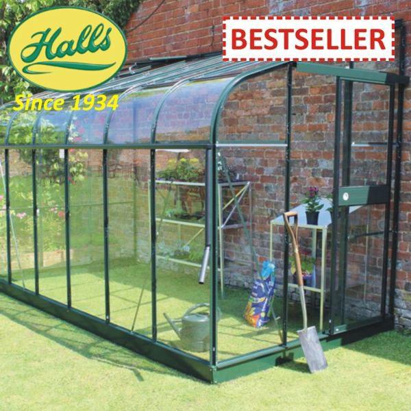 szklarnia ogrodowa przyścienna model silverline 126 halls angielska