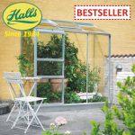 szklarnia ogrodowa przyścienna wall garden 62 halls