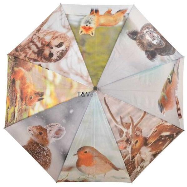 parasol przeciwdeszczowy duży motyw zima