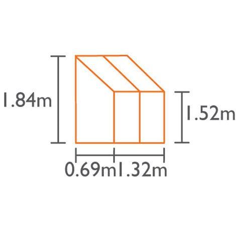angielska szklarnia aluminiowa model ida 900 vitavia (2)
