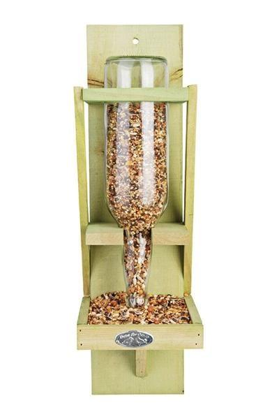 Karmnik Dla Ptaków Butelka W Drewnianym Stojaku Fb5 Esschert Design