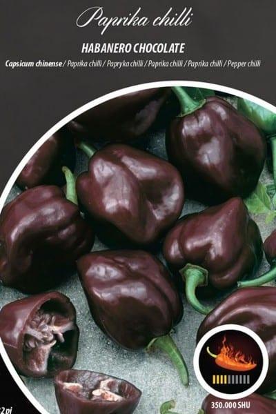 papryka chili habanero chocolate