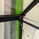 szklarnia qube angielska aluminiowa 5,1m2 czarna (2)
