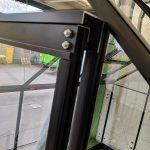 szklarnia qube angielska aluminiowa 5,1m2 czarna (4)